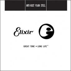 13018 Anti-Rust Отдельная струна для гитары, сталь, .018, Elixir