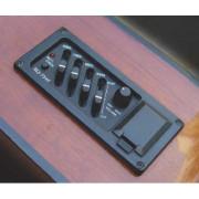 EQ-7545 Звукосниматель с 4-х полосным эквалайзером, Belcat