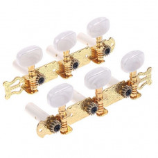 Колки Alice, 3+3 планка, для классической гитары, 35мм, золото (AOD-019CP)