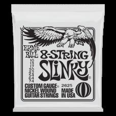 Струны Ernie Ball 8-string Slinky 10-74 (2625)