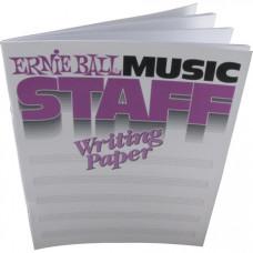Нотная тетрадь Ernie Ball (P07019)
