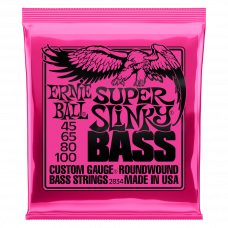 Струны Ernie Ball Super Slinky Bass 45-100 (2834)
