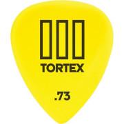 Медиатор Dunlop Tortex TIII желтый 0.73мм