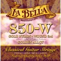 Струны La Bella Classic Golden Nylon 3-rd Wound (850-W)