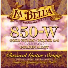 Струны La Bella Classic Golden Nylon 3-rd Wound (850-W)