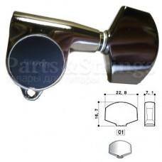 Колки Gotoh SG301-01 3L-3R Cosmo Black