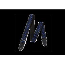 Ремень для гитары Dunlop Flambe Blue (D38-11 BL)