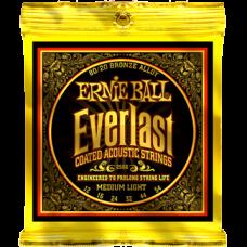 Струны Ernie Ball Everlast Coated 80/20 Bronze Acoustic 12-54 (2556)