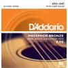Струны D'Addario Phosphor Bronze Acoustic 10-47 (EJ15)