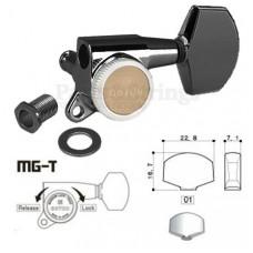 Колки запирающие Gotoh SG381-01-MGT 3L-3R Черный