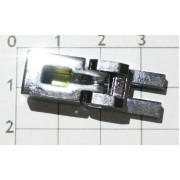Седло Floyd Rose №0 10,0 mm Хром (для OFR, Schaller и аналогичных тремоло) (FRO-BSS/C/P)