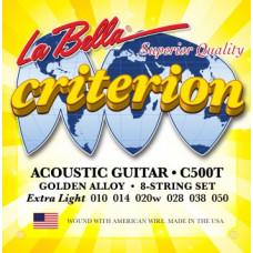 Струны LaBella Criterion Acoustic 10-50 (C500T)