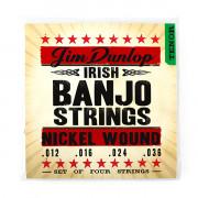 DJN1236 Комплект струн для банджо тенор, никель, 12-36, Dunlop
