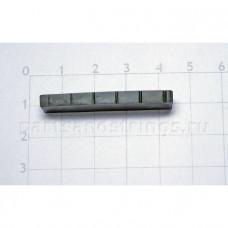 Верхний порожек GF (Guitar Factory), графит, 40x8.2x3.8 NTC-10