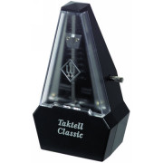 829161 Taktell Classic Метроном механический, пластик, черный, без звоночка, Wittner