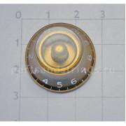 Ручка потенциометра громкости Hosco, под дюймовый шток, золото KG-160I, 1шт