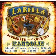880L Комплект струн для мандолины фосфор-бронза La Bella