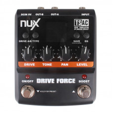 Nux Drive Force, эмулятор 10 педалей