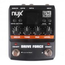 Nux Drive Force, эмулятор 10 педалей