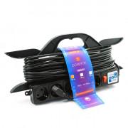 PC-LG5-R-10 PowerCube Удлинитель на рамке 16А/3,5 кВт, с вык. 10м, Электрическая мануфактура