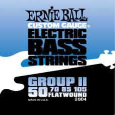 Струны Ernie Ball  Group II Flat Wound Bass 50-105 (2804)