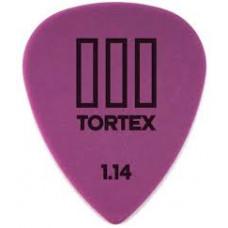 Медиатор Dunlop Tortex TIII фиолетовый 1.14мм