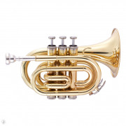 JP159L Труба Bb компактная, золотое лаковое покрытие, John Packer