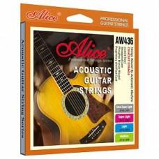 Струны Alice Phosphor Bronze Professional Acoustic 11-52 (AW436-SL)