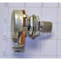 Потенциометр Hosco-GF A500K логарифмический, короткий шток, mini