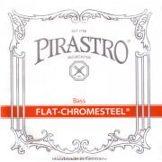 342000 Flat-Chromesteel SOLO Комплект струн для контрабаса размером 3/4, Pirastro