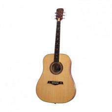 Гитара акустическая Excalibur, полноразмерная цвет натуральный (EF(CF)-6011FM)