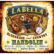 880M Комплект струн для мандолины фосфор-бронза La Bella