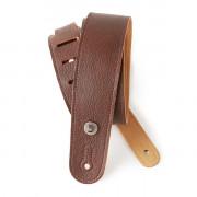 20GL01 Slim Garment Ремень для гитары, кожа, коричневый, Planet Waves