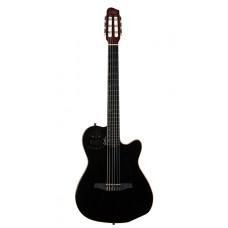 032174  ACS Cedar Black Электро-акустическая гитара с чехлом, черная, Godin