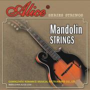 AM04 Комплект струн для мандолины, латунь, 10-34, Alice