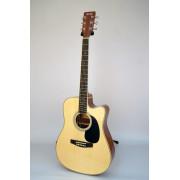 LF-4121CEQ Акустическая гитара с вырезом и звукоснимателем HOMAGE