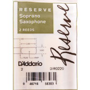 DIR0220 Reserve Трости для саксофона сопрано, размер 2.0, 2шт, Rico