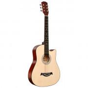 Акустическая гитара Fante с вырезом, цвет натуральный (FT-D38-N)