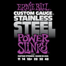 Струны Ernie Ball Stainless Steel Power Slinky 11-48 (2245 )