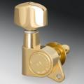 Колки Schaller M6 (Bracket 135°) 6 левые, Золото (10020520)