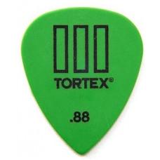 Медиатор Dunlop Tortex TIII зеленый 0.88мм