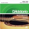 Струны D'Addario American Bronze 85/15 Acoustic 9-45 (EZ890)