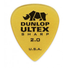 Медиатор Dunlop Ultex Sharp 2.0мм. (433R.2.0)