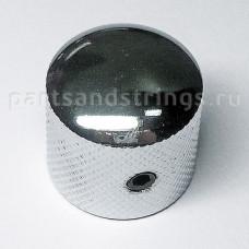Ручка регулировки закругленная, диаметр 18мм, хром (C1004-CR)