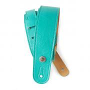 20GL04 Slim Garment Ремень для гитары, кожа, цвет морской волны, Planet Waves