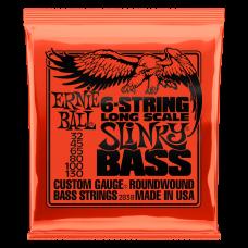 Струны Ernie Ball 6-String Long Scale Slinky Bass 32-130 (2838)