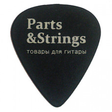 Медиатор Parts&Strings черный 1мм.