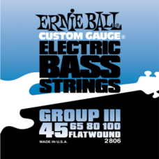 Струны Ernie Ball  Group III Flat Wound Bass 45-100 (2806)