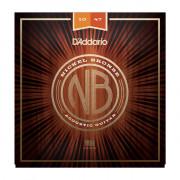 Струны D'Addario Acoustic Nickel Bronze 10-47 (NB1047)