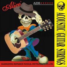 Струны Alice Phosphor Bronze Acoustic 11-52 (А206-SL)